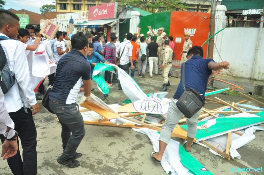 Turmoil in Manipur University: Mass Protests and Hindutva